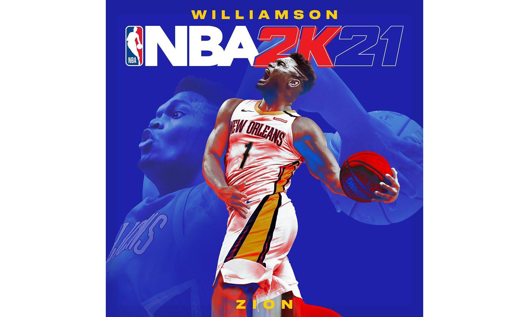 《NBA 2K21》揭晓另一位封面人物 Zion Williamson