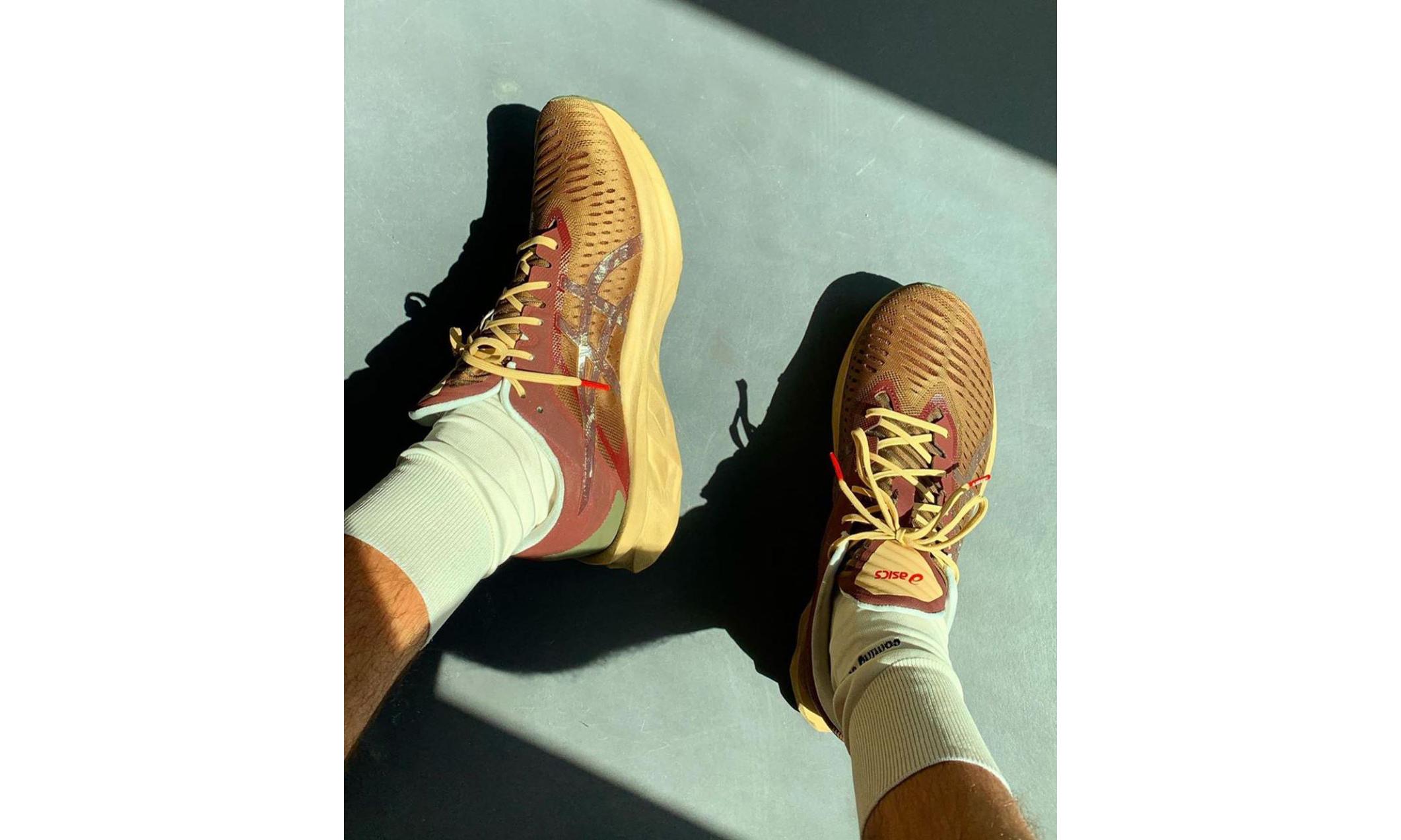抢先预览 AFFIX WORKS x ASICS 新联名鞋款