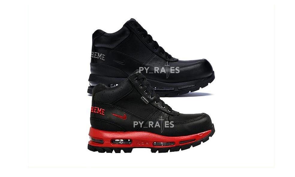 Supreme x Nike Air Max Goadome 新联名鞋款系列曝光