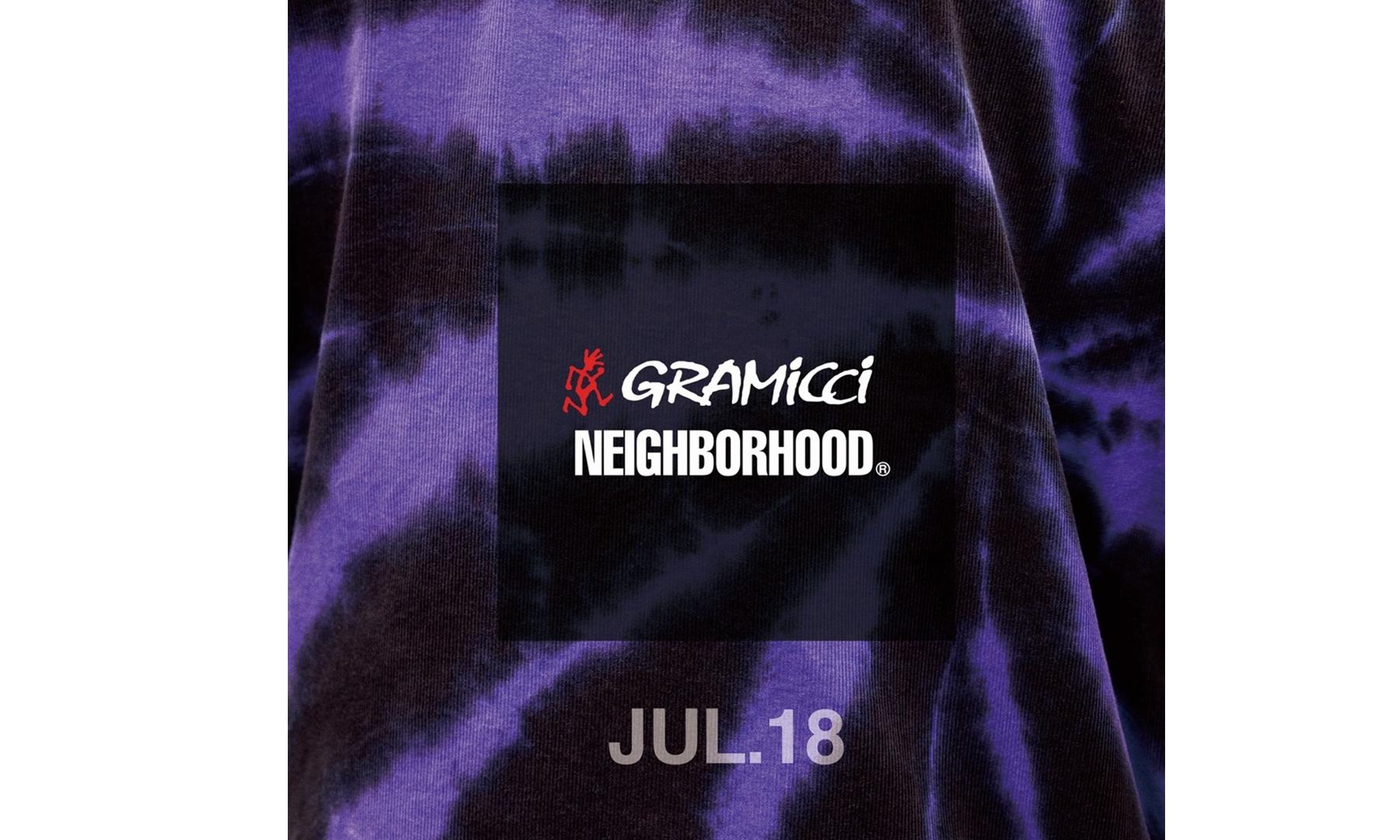 NEIGHBORHOOD x Gramicci 全新合作预告登台亮相