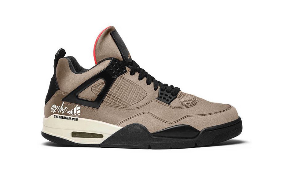 激似 Travis Scott 联名?Air Jordan IV「Taupe Haze」将于明年登场