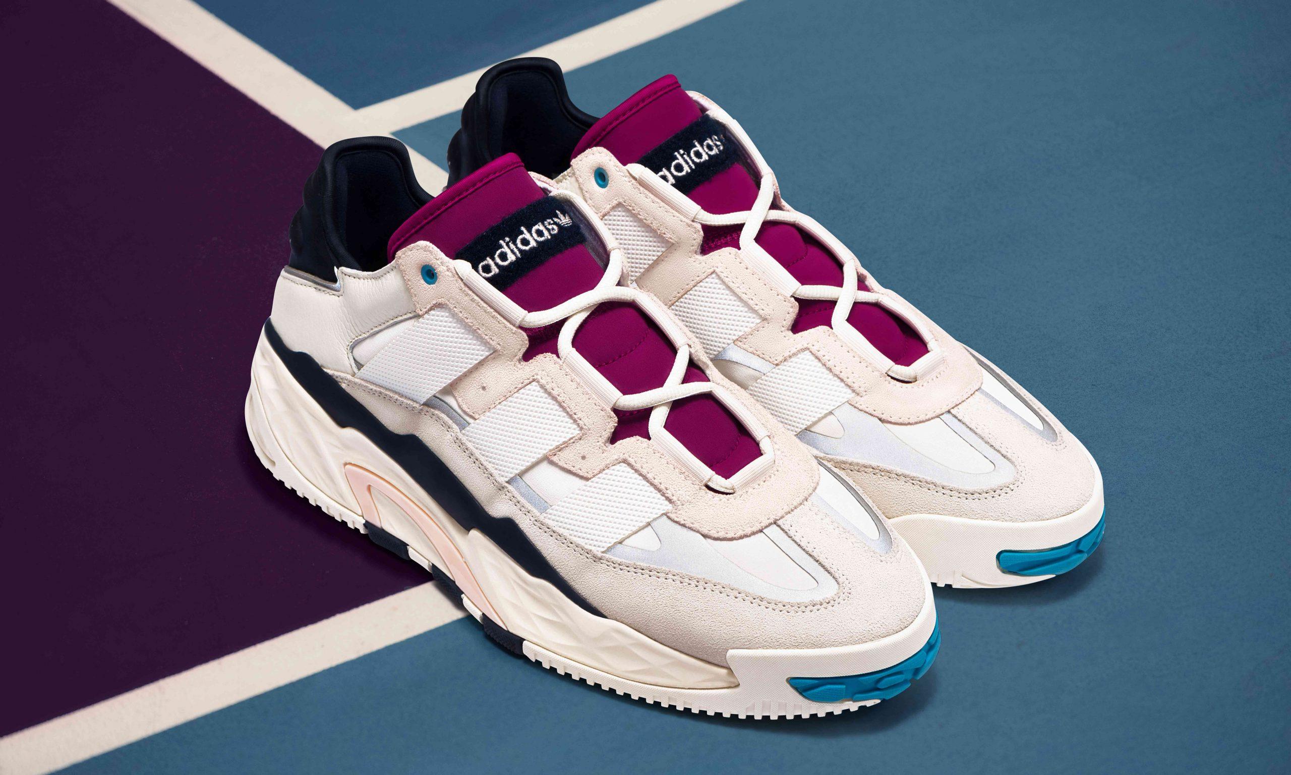 复古篮球场经典,adidas Originals 新鞋款 Niteball 亮相
