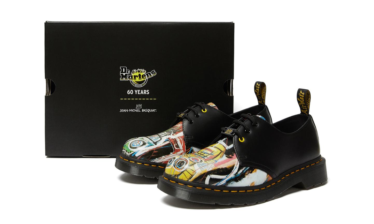 Dr.Martens x Jean-Michel Basquiat 联名鞋履即将释出