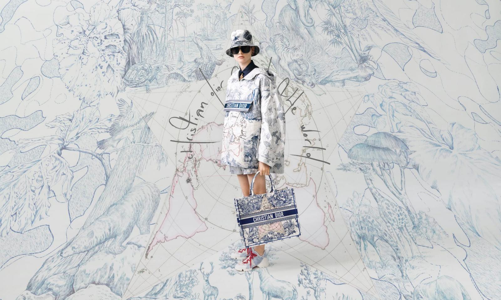 Christian Dior 将与意大利艺术家 Pietro Ruffo 带来胶囊联名