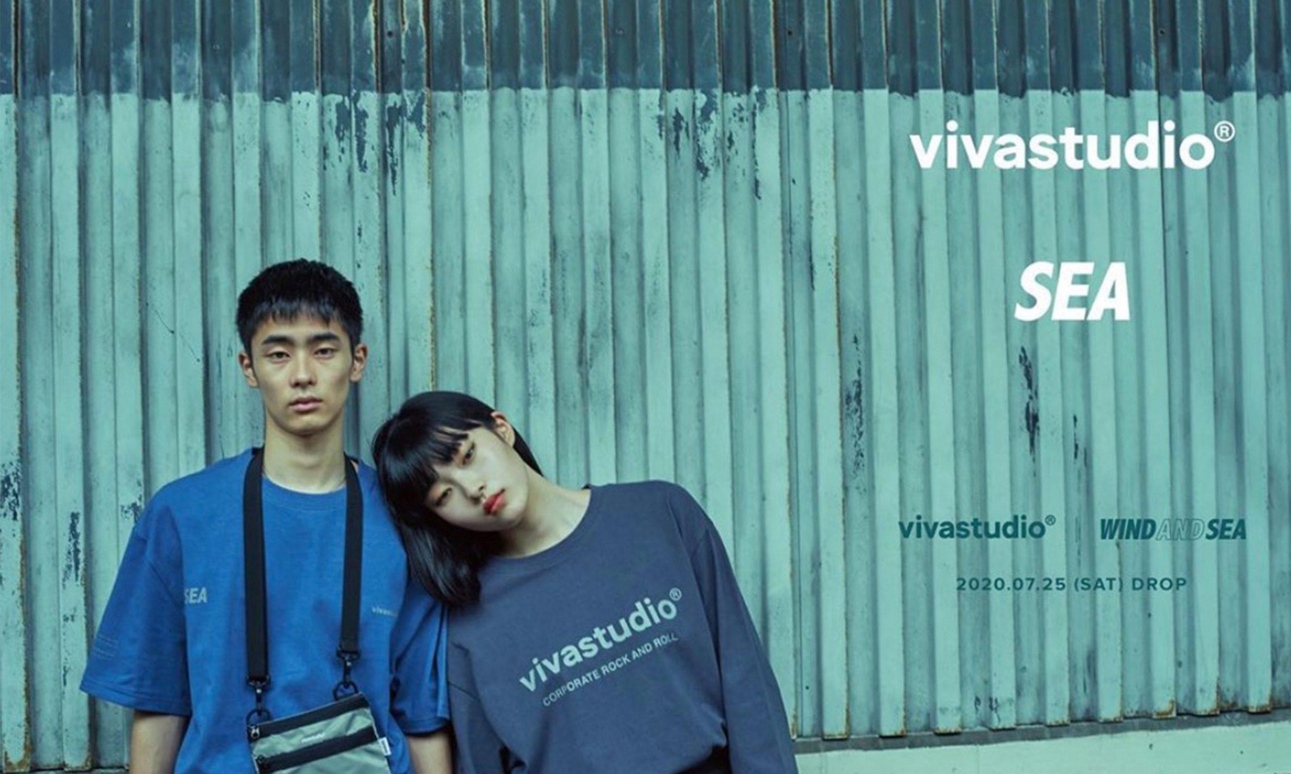 vivastudio × WIND AND SEA 合作系列公开