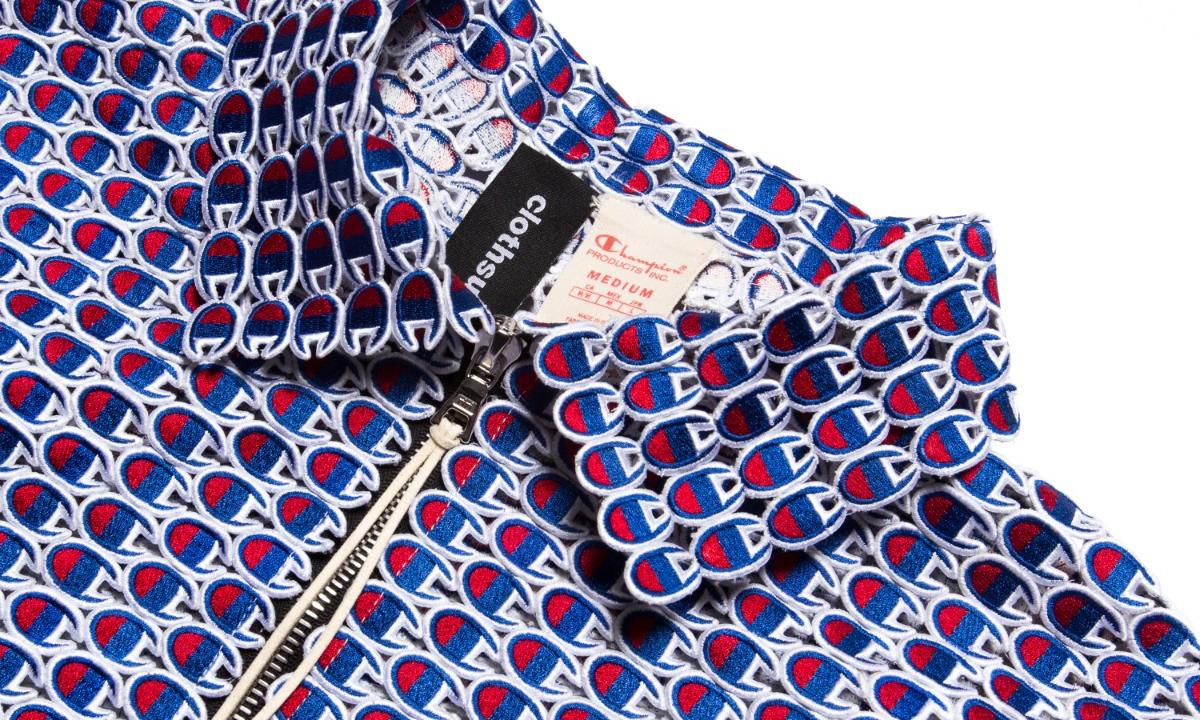 冠军中的冠军,Clothsurgeon 以超 4,000 个 Champion logo 打造定制夹克