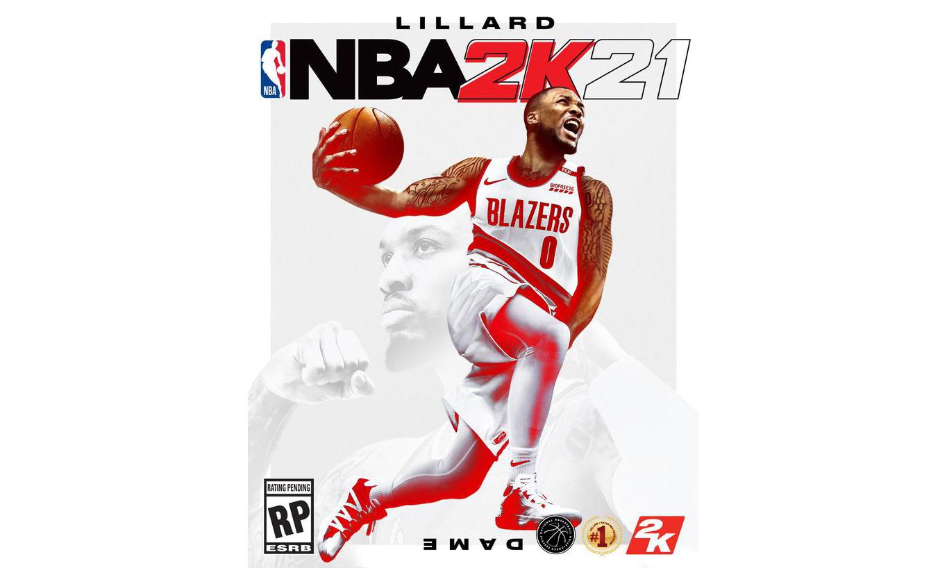 利拉德成为《NBA 2K21》封面球星