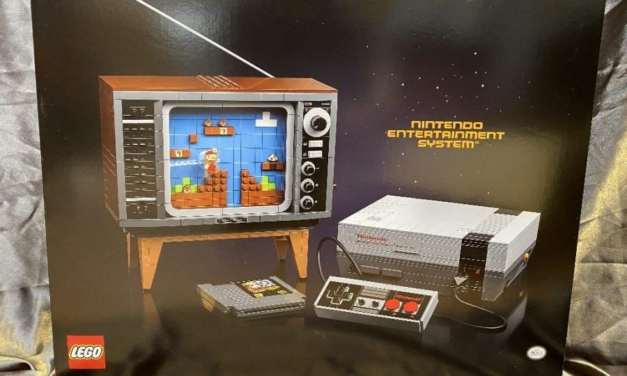 乐高将推出马里奥主题 NES 盒组