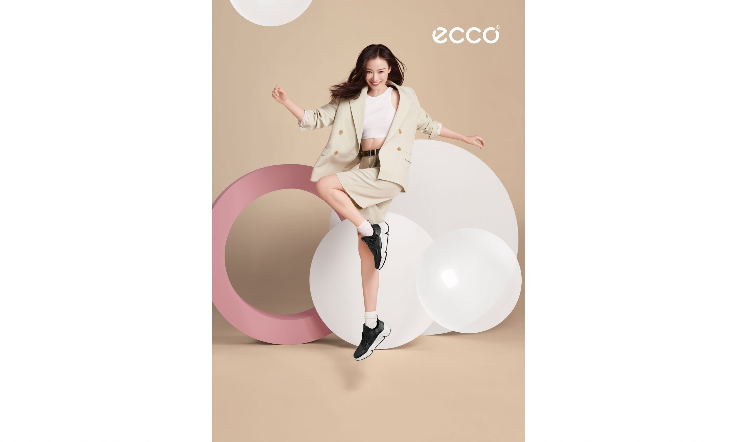 ECCO 官宣全新代言人倪妮