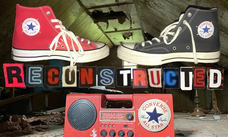 CONVERSE 发布「Reconstructed」系列全新配色