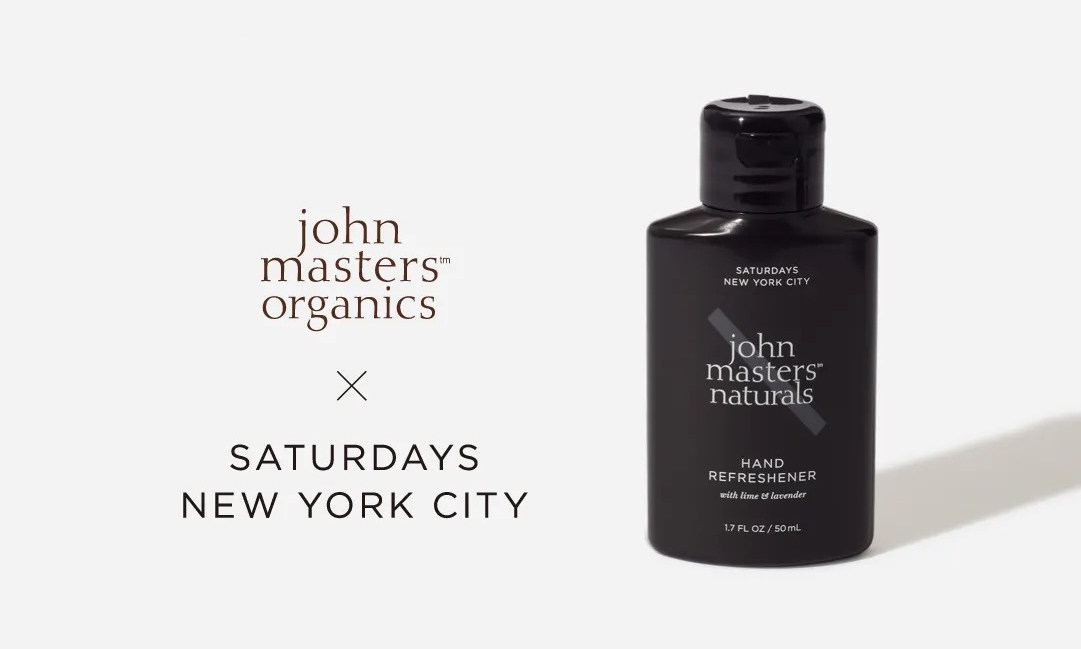 有机洗护品牌 John Master 与 Saturdays NYC 推出手部护理产品