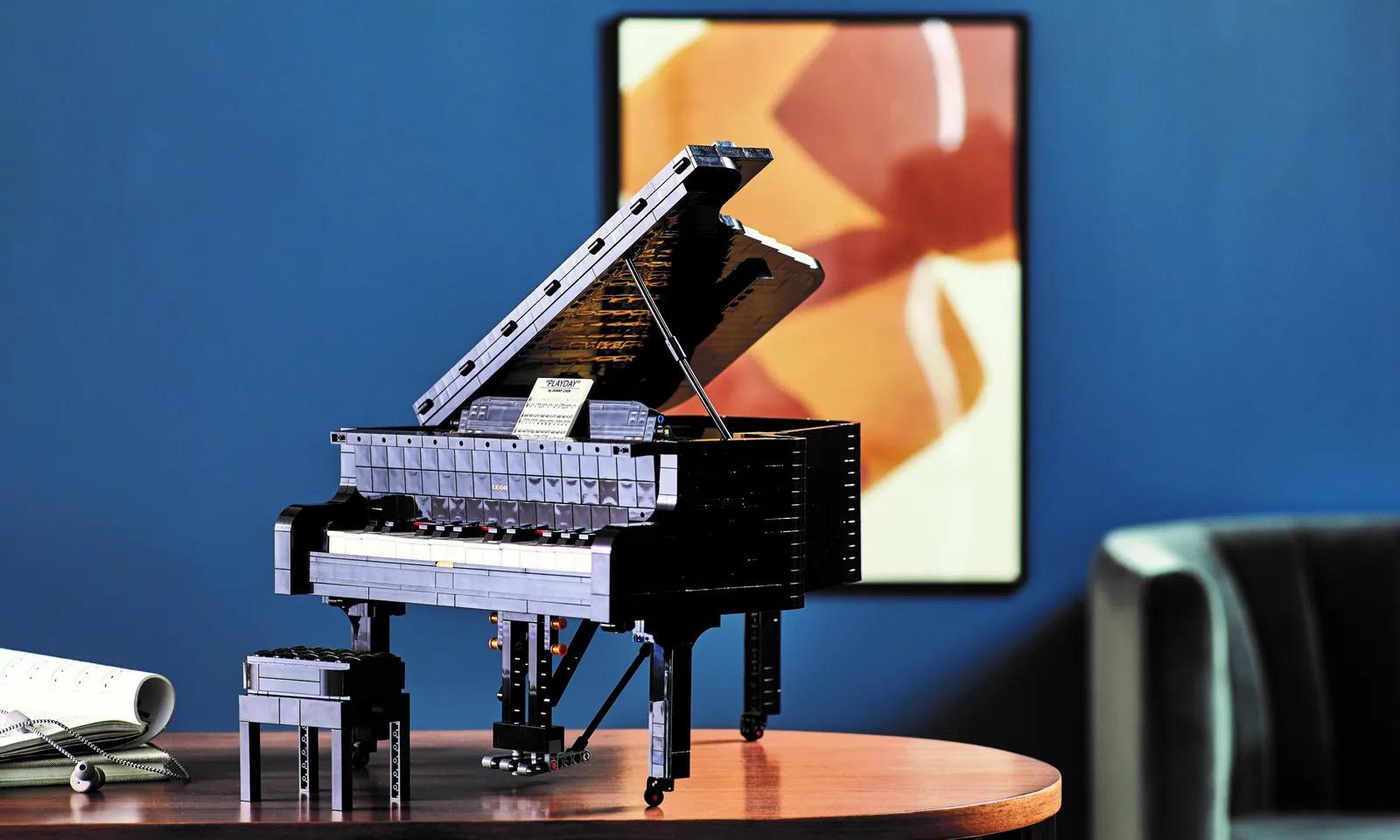 可以尽情「演奏」,LEGO IDEAS 钢琴盒组即将开售