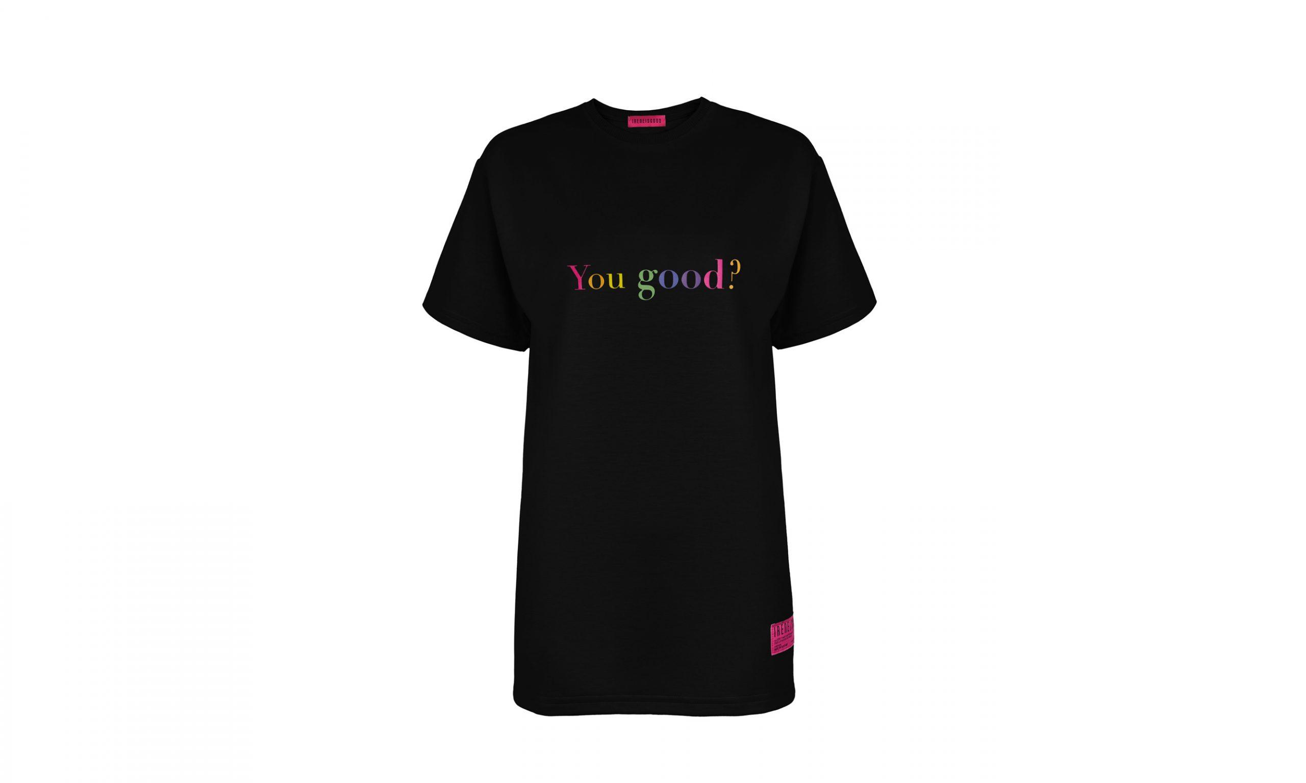韩国时尚品牌 IRENEISGOOD 即将推出彩色字句 T 恤系列