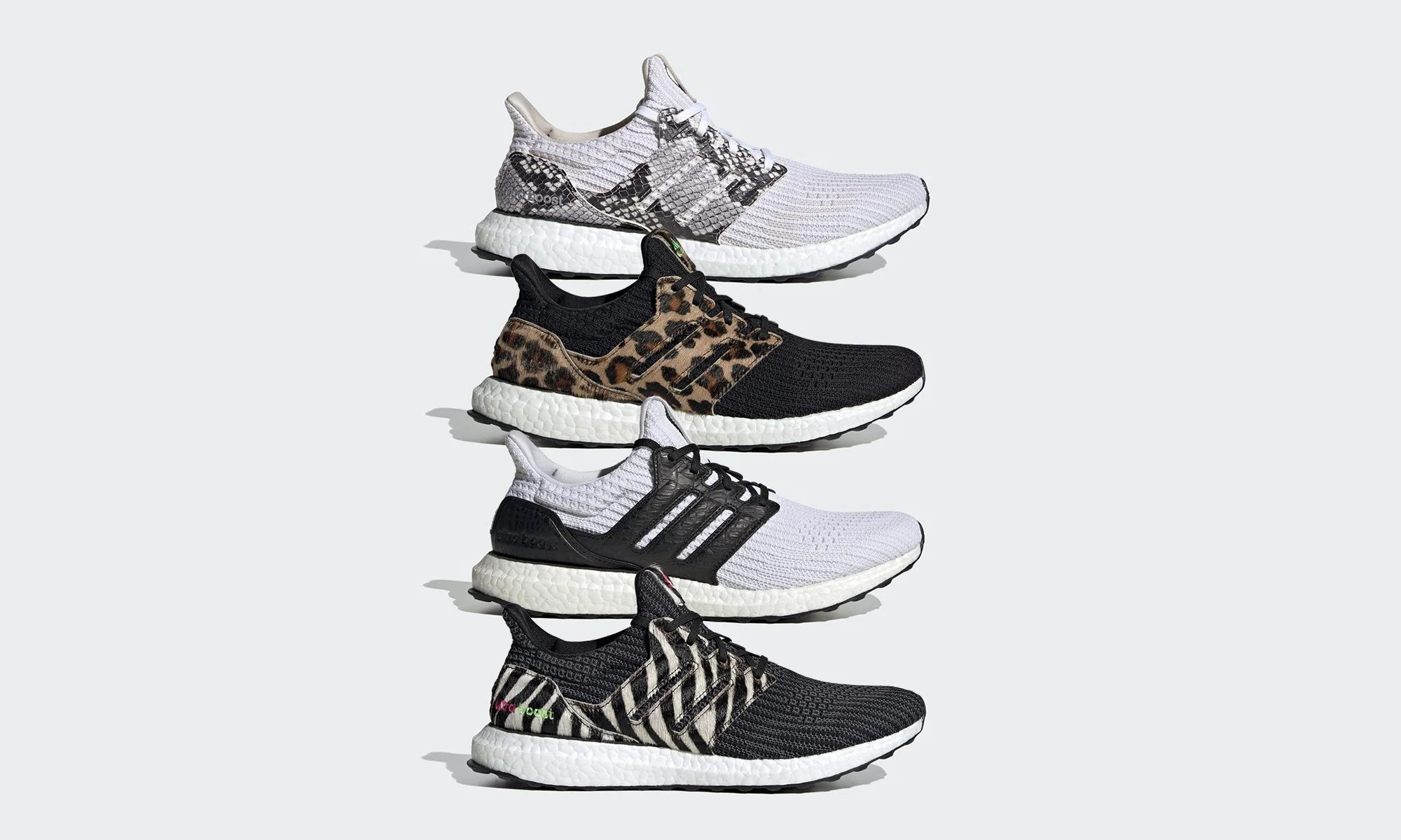 adidas UltraBOOST「Animal Pack」系列鞋款正式亮相