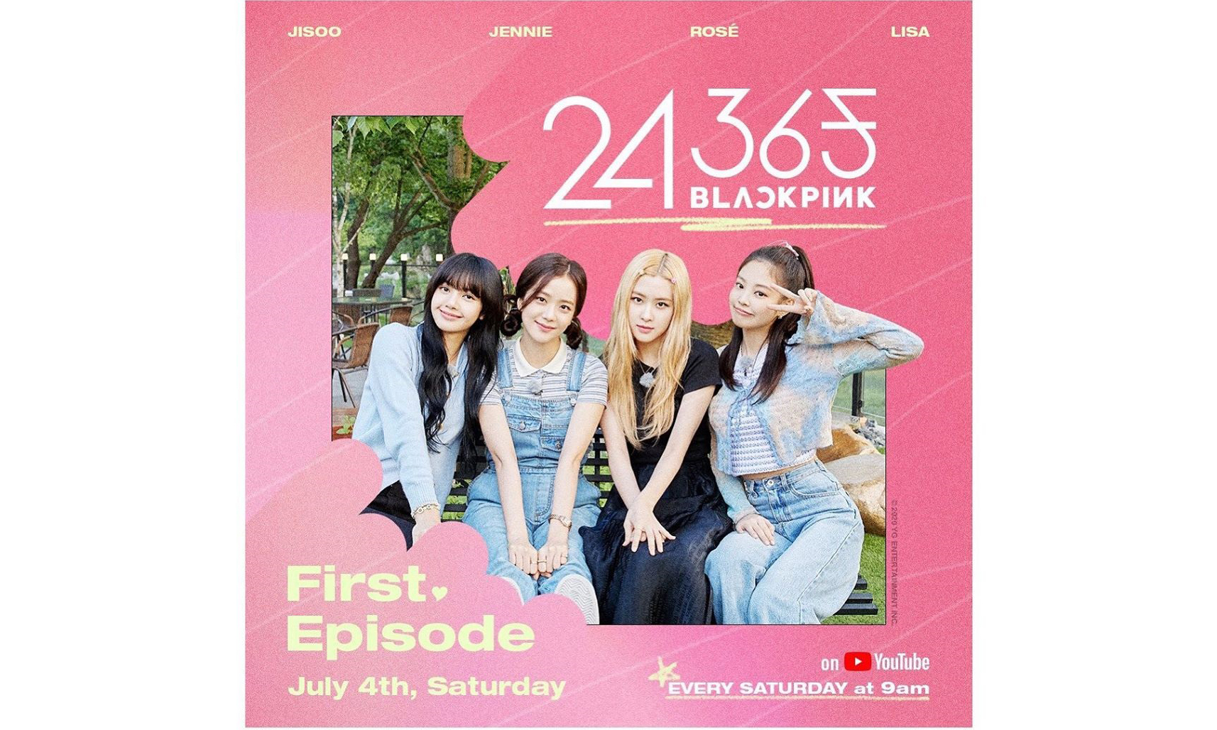 BLACKPINK 联手 YouTube 打造团综,7 月 4 日首播