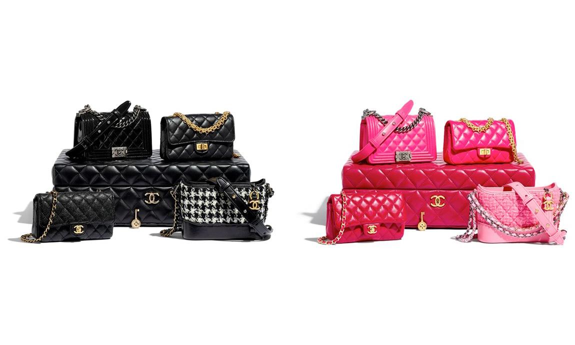 包含四个经典款式,Chanel 奢华手袋礼箱开卖