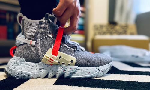 除去环保理念,Nike Space Hippie 系列好穿吗?