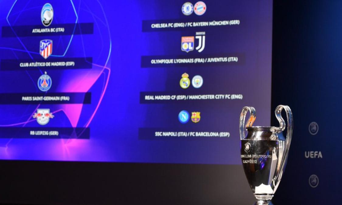 「死亡半区」现身,欧冠八强赛抽签出炉