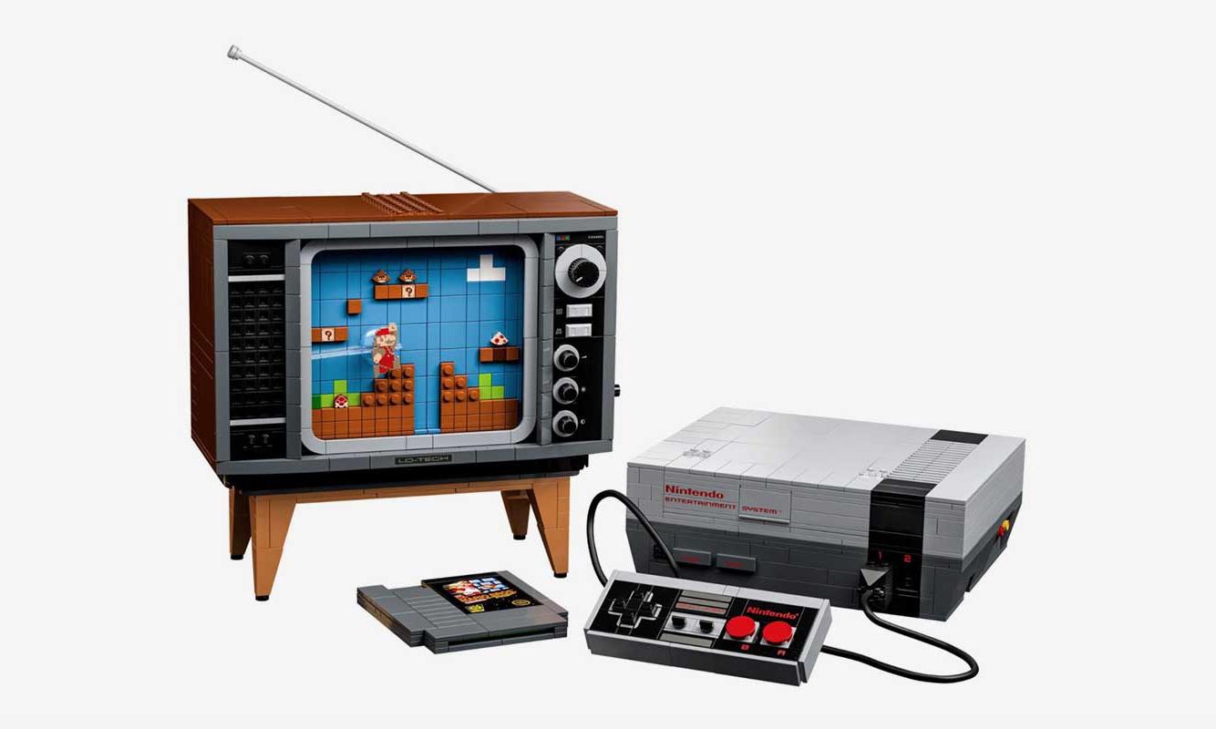 可以玩的马里奥,LEGO 重建 Nintendo 游戏主机