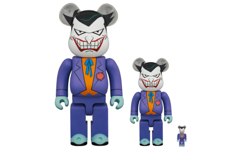 MEDICOM TOY 打造「Joker」BE@RBRICK 玩偶
