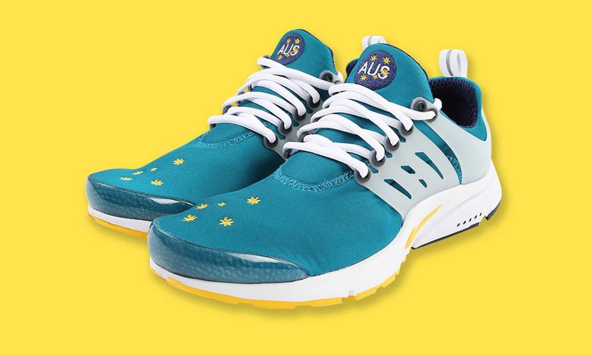 曾为奥运会运动员限定的 Nike Air Presto「AUS」首次对外发售