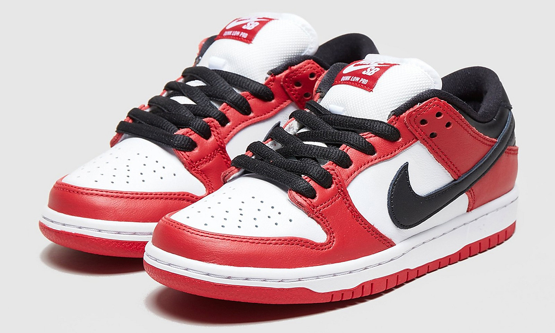 致敬经典,Nike SB Dunk Low「Chicago」突击发售