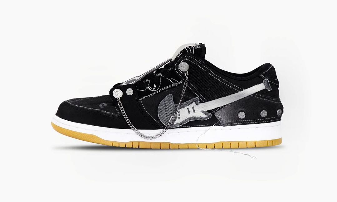 C2H4 推出客制版本 Nike SB Dunk Low