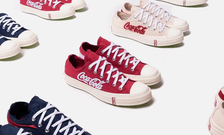 KITH x Coca-Cola x CONVERSE Chuck 70 Low 发售日期确定