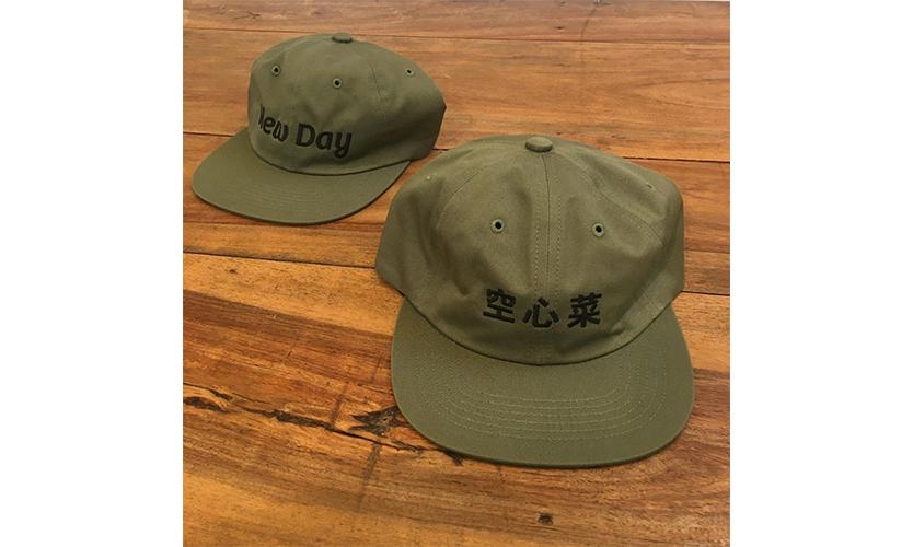 BEAMS 推出「空心菜」平沿帽