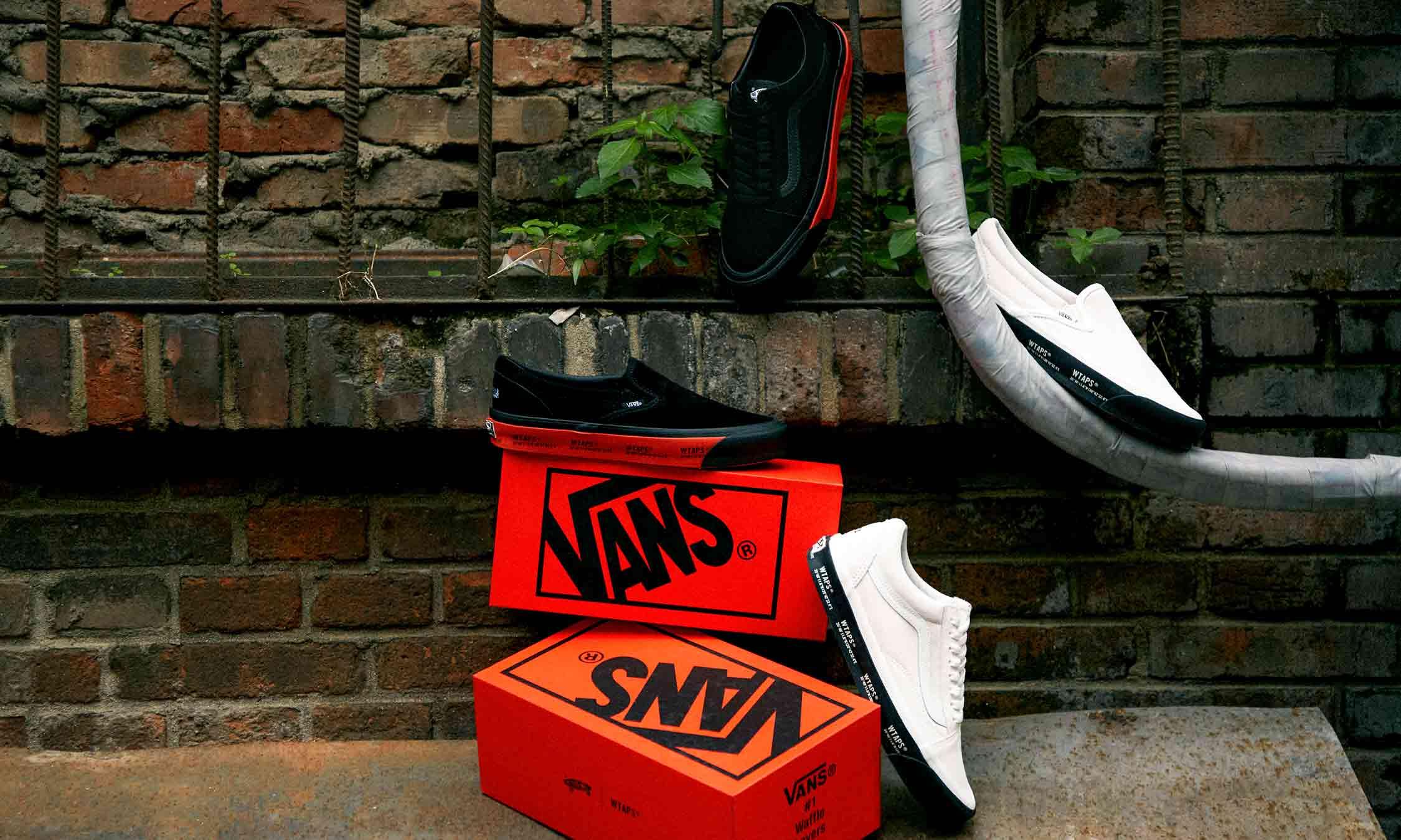 重新上路,WTAPS x Vault By Vans 联名细节近赏