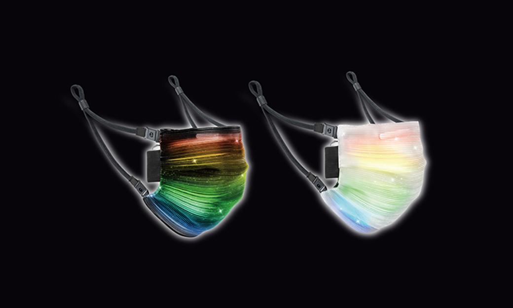人群中最闪亮?日本品牌 Spec Computer  推出七彩 LED 口罩