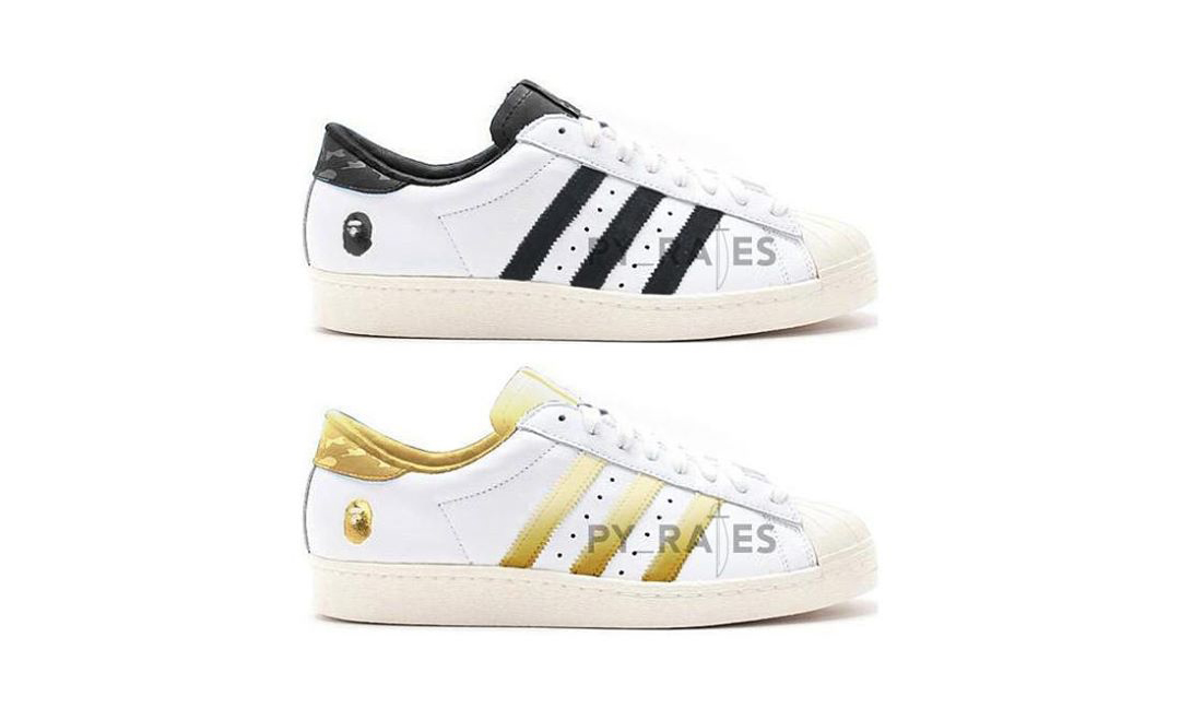BAPE® x adidas Originals 联名 Superstar 80's 明年登场