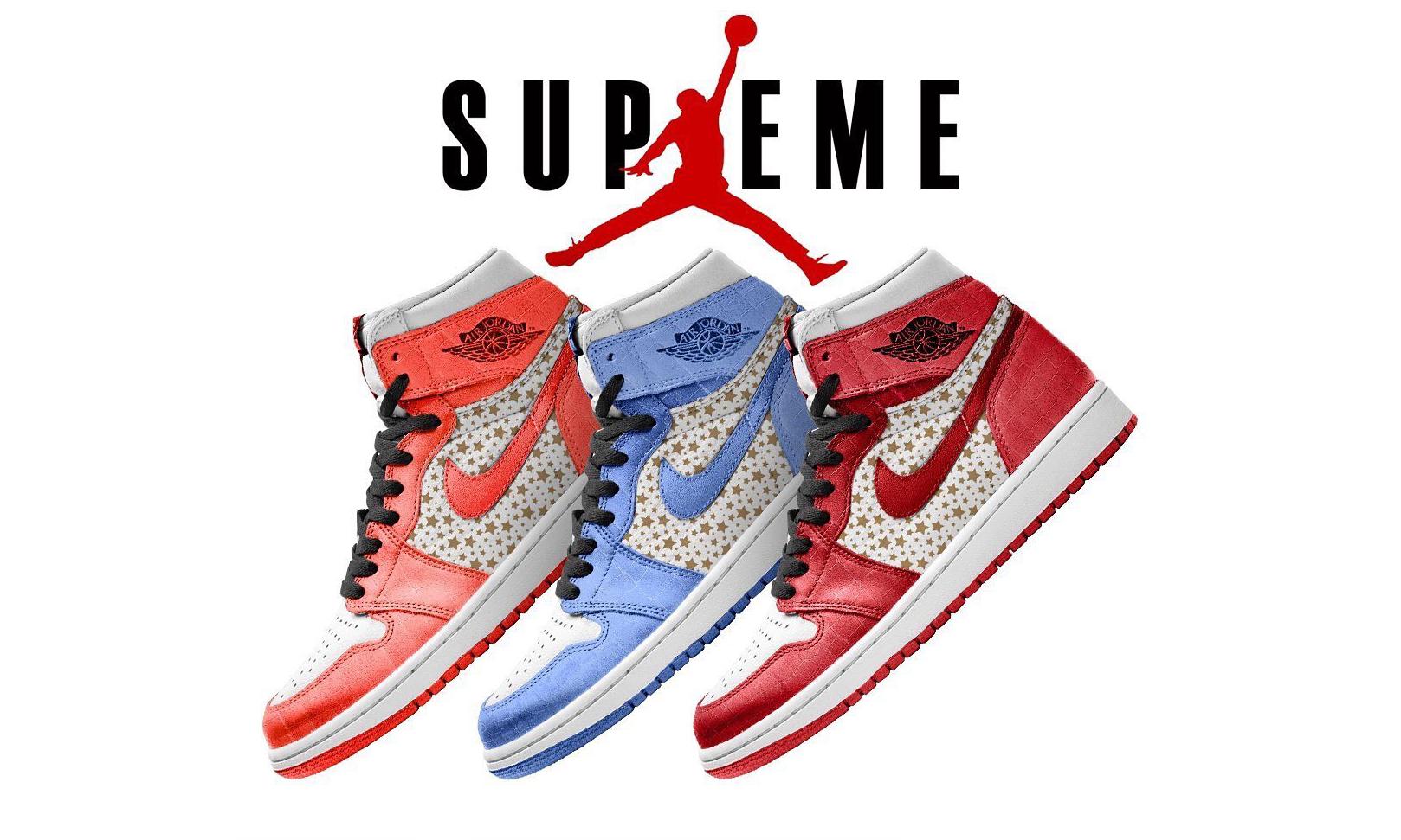 Supreme x Air Jordan I 联名或将于 2021 年登场