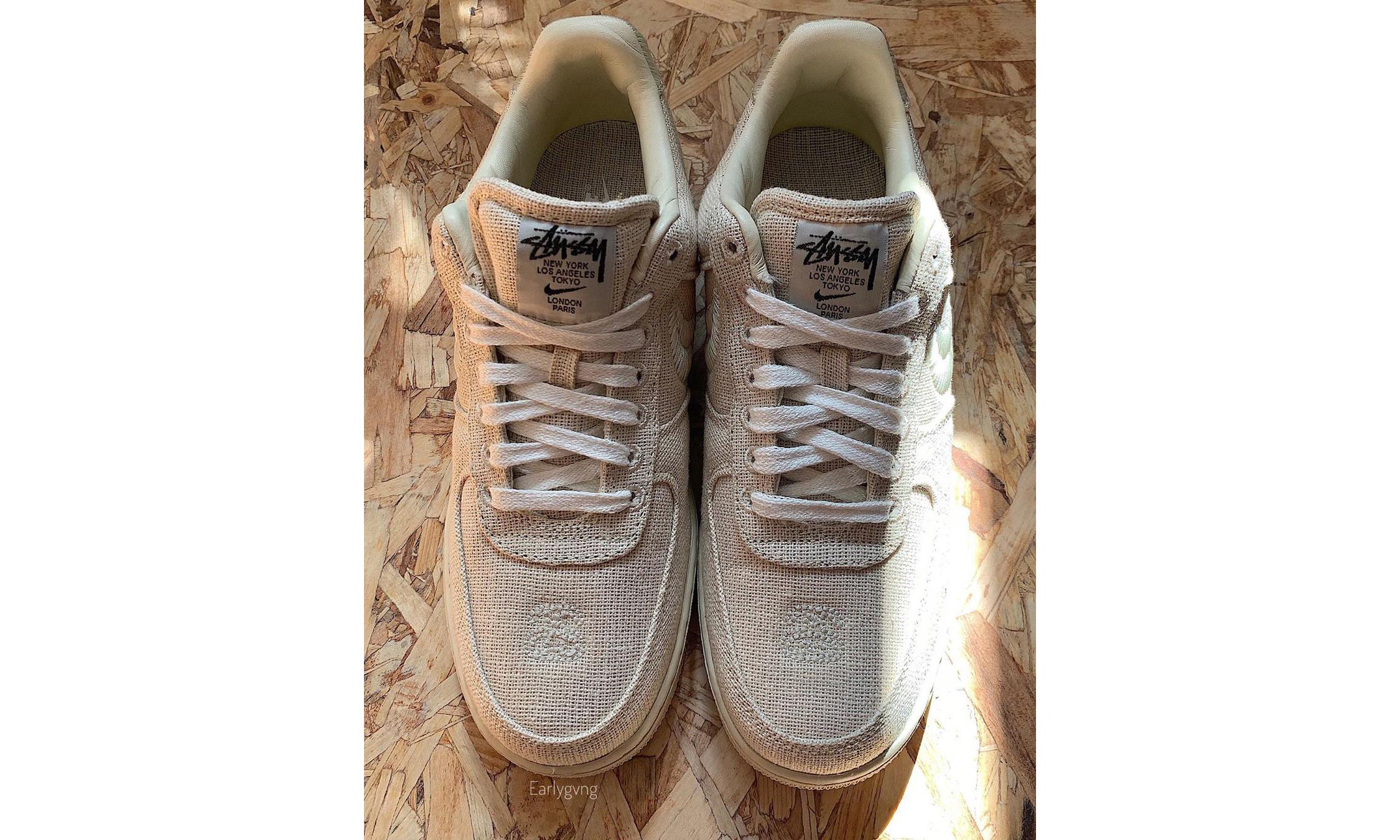 Stüssy x Nike 全新联名 Air Force 1 抢先看
