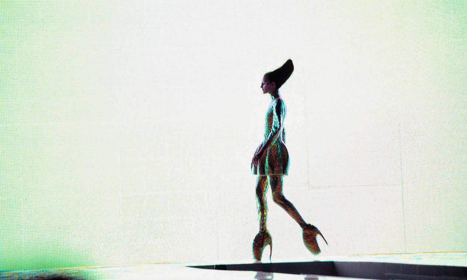 Alexander McQueen 2010 春夏 — 那一束唯一的光