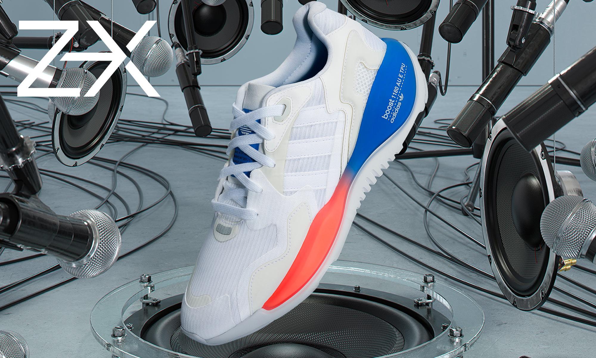 ZX ALKYNE 是你曾经幻想过的那双「未来球鞋」吗?
