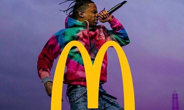 Travis Scott 即将携手麦当劳?