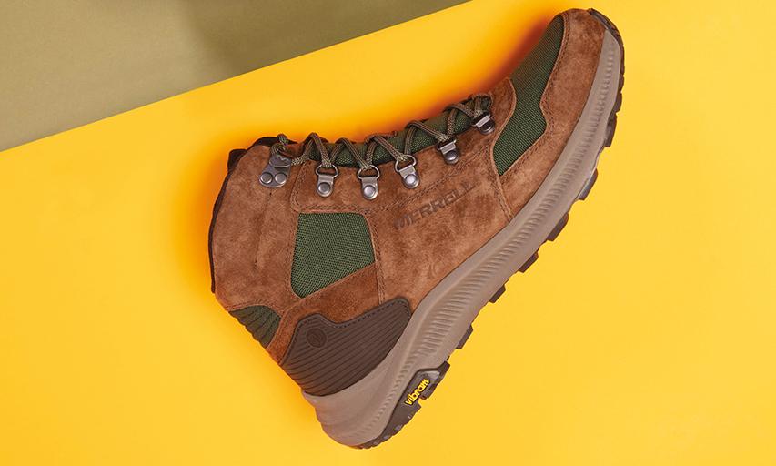 MERRELL「1TRL trail」越野鞋履系列发布