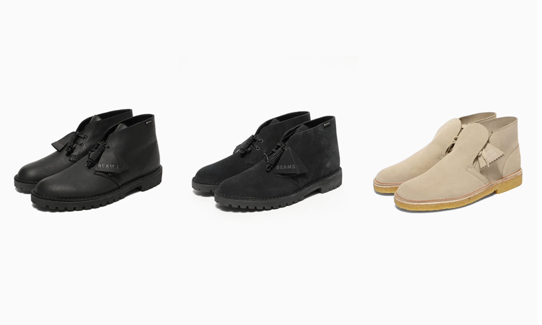 BEAMS x Clarks Originals 2020 秋冬季度全新合作亮相