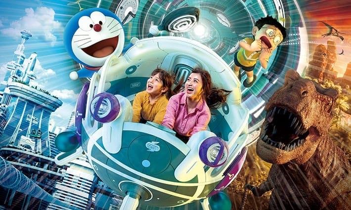 大阪环球影城《哆啦A梦 伴我同行2》XR Ride 视频公开