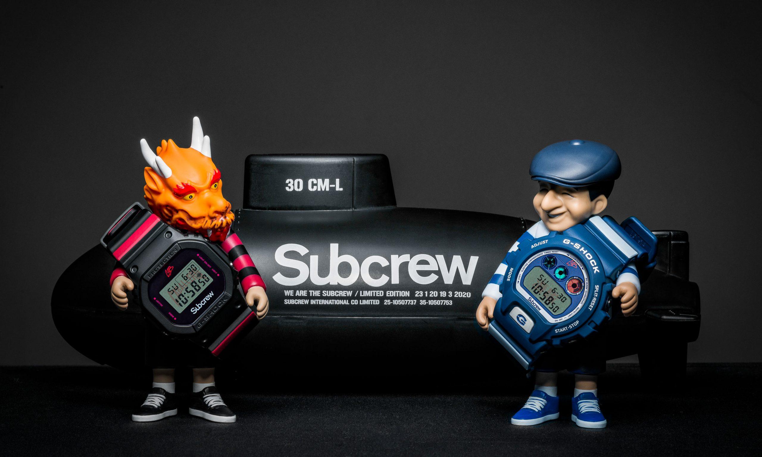 G-SHOCK x SUBCREW x STEVE CABALLERO 三方联名重磅登场