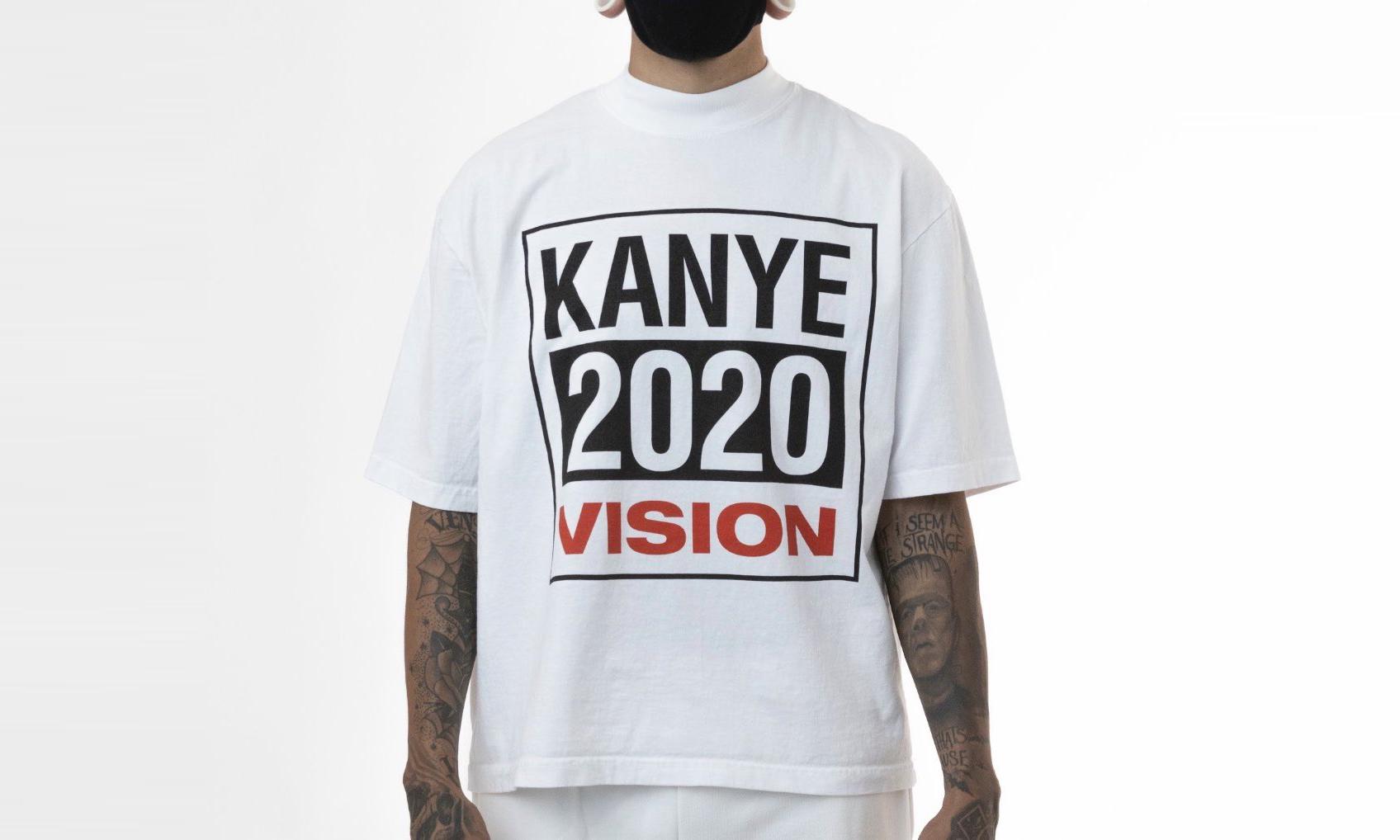 仍旧未放弃,Kanye West 晒出总统竞选周边