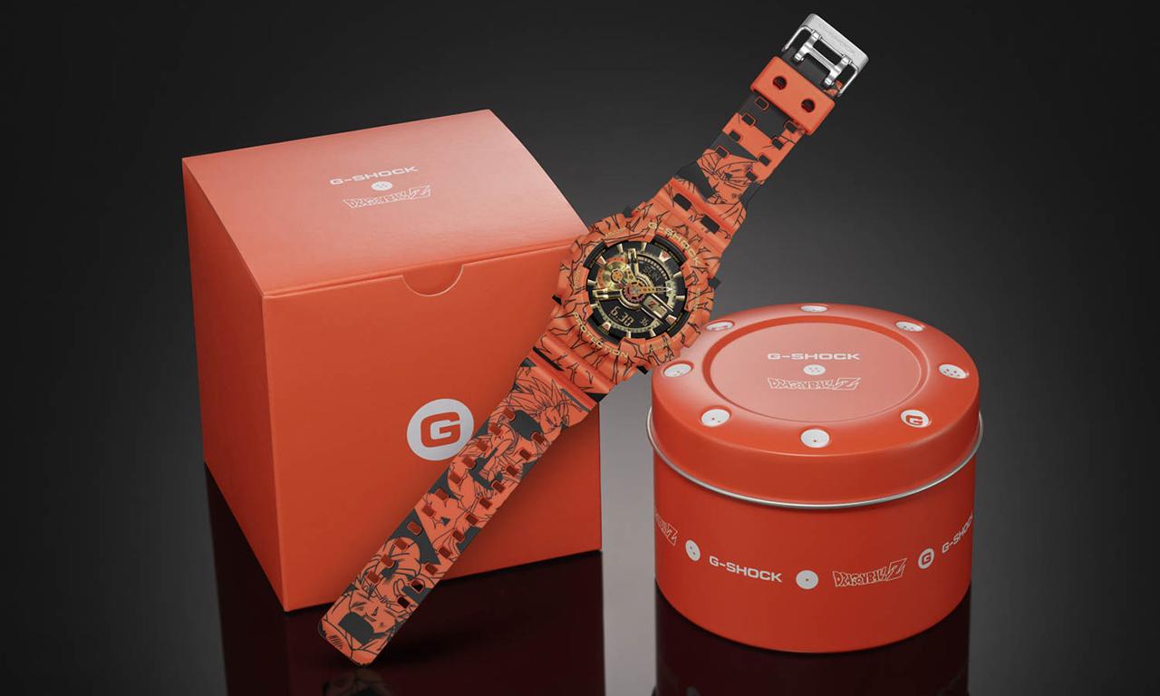 G-SHOCK x 《七龙珠 Z》联乘腕表再度来袭