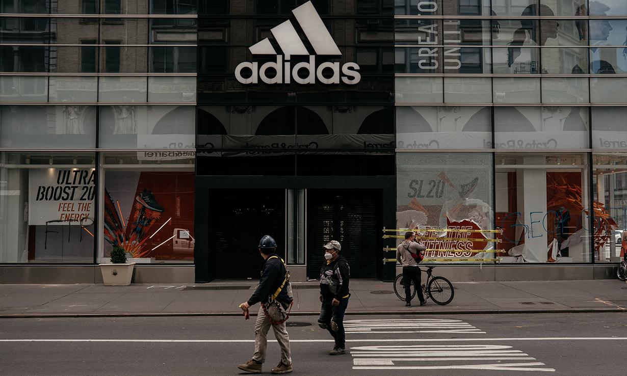 线上与实体店呈两级发展,adidas  释出最新财务报告