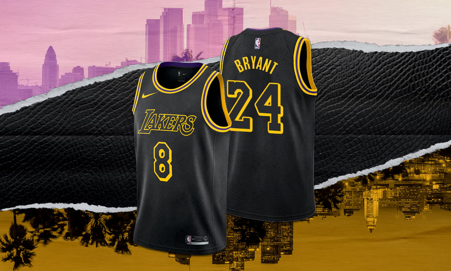 Nike 科比湖人纪念版球衣上架美区 SNKRS