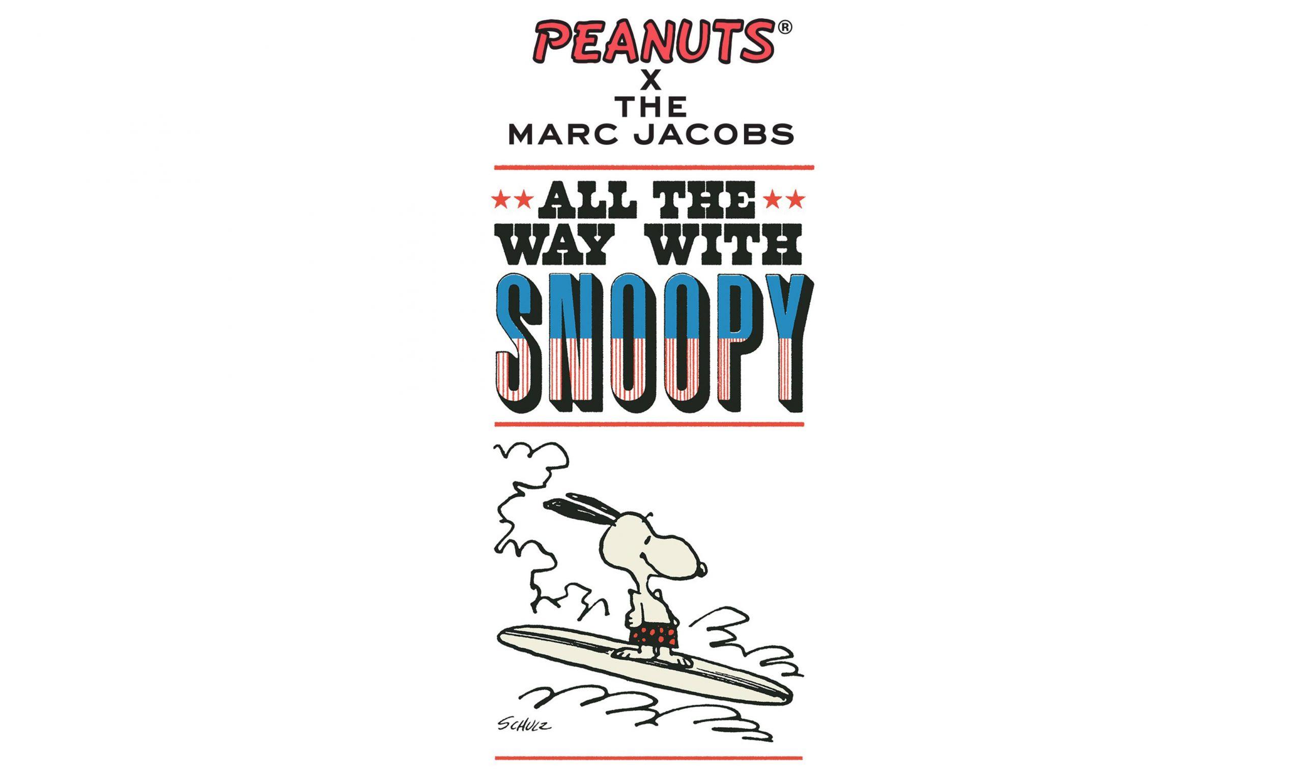 PEANUTS x Marc Jacobs 即将于日本开设 Pop-Up Store