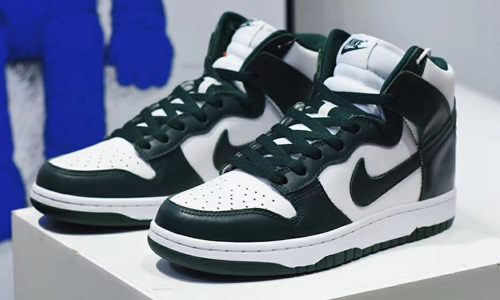 Nike Dunk High SP「Pro Green」实物近赏