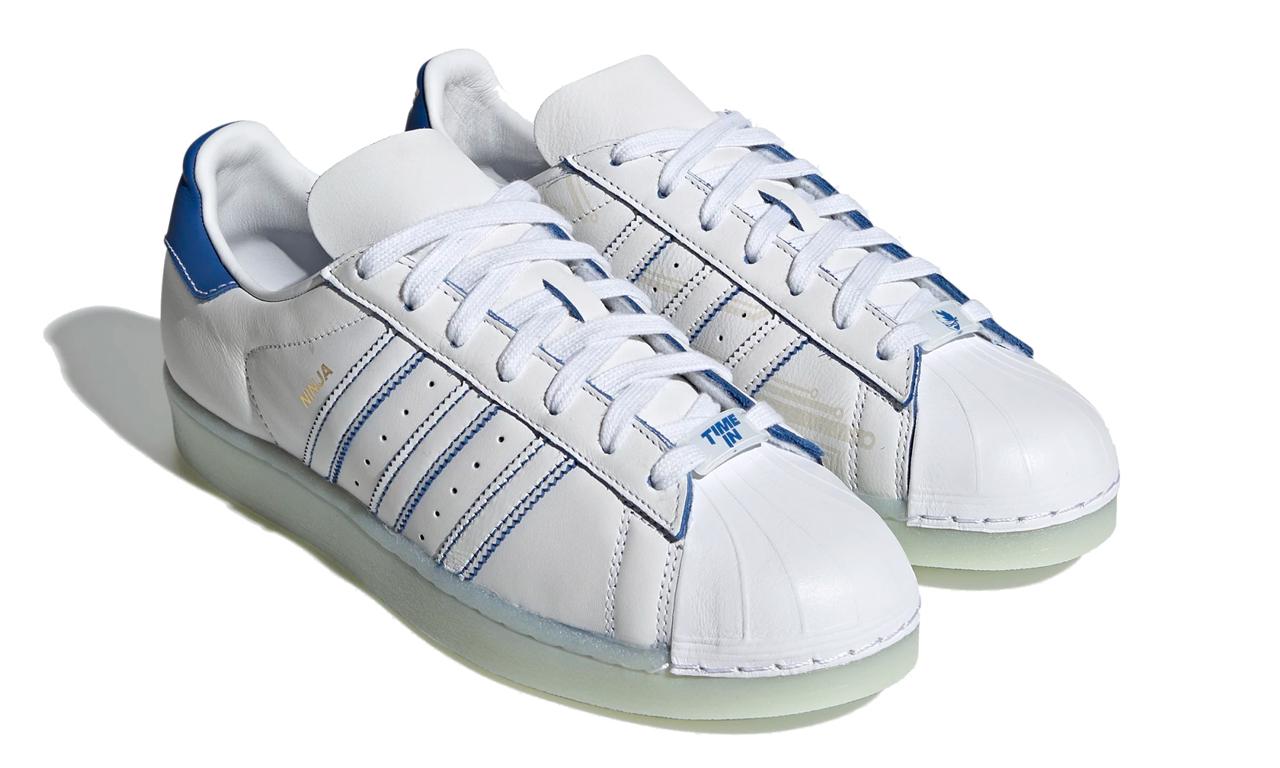 Ninja x adidas Superstar 联乘鞋款即将登场