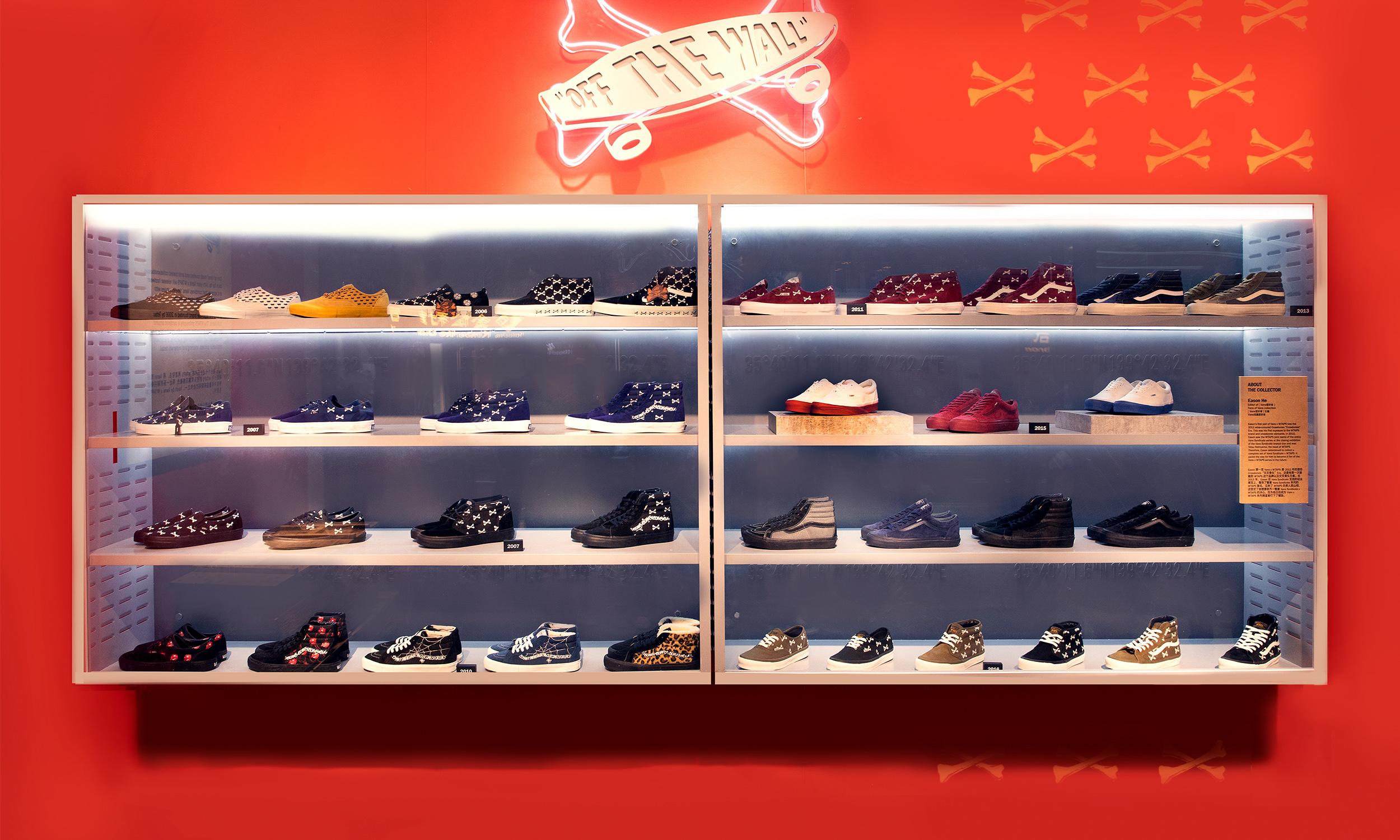 除了 WTAPS 联名鞋展,你还能在上海的顶级 Vans 店铺看到什么?