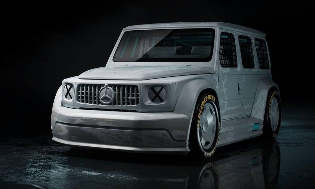 Virgil Abloh x Mercedes-Benz 正式发布「G 级艺术概念车」